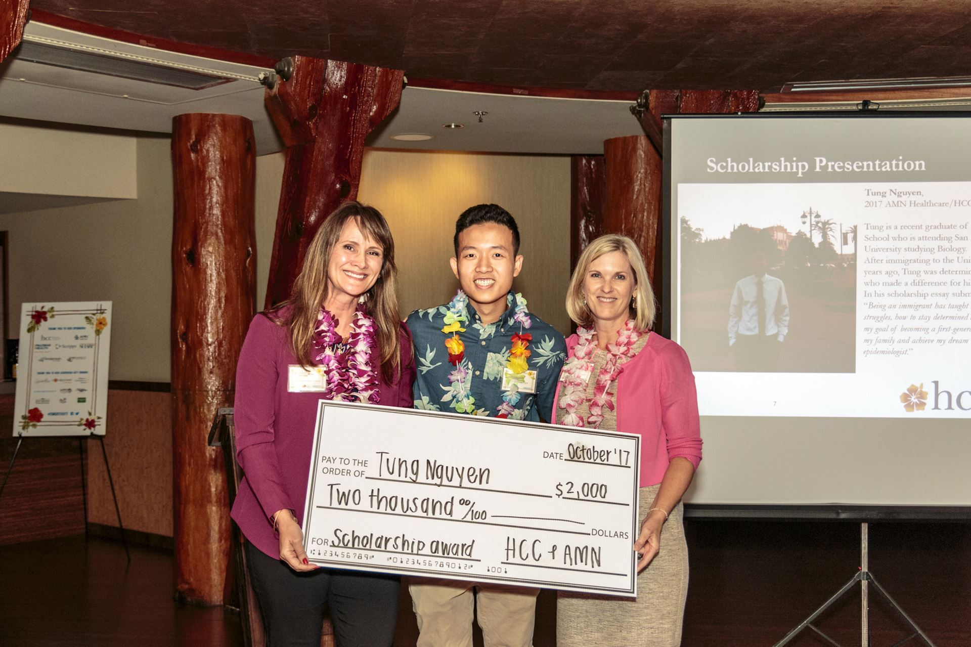 Health Care Communicators Of San Diego County  Amnhcc Scholarship Tung Nguyen  Amn Healthcarehcc Scholarship Winner Is A Recent  Graduate Of Patrick Henry High School Who Is Attending San Diego State  University